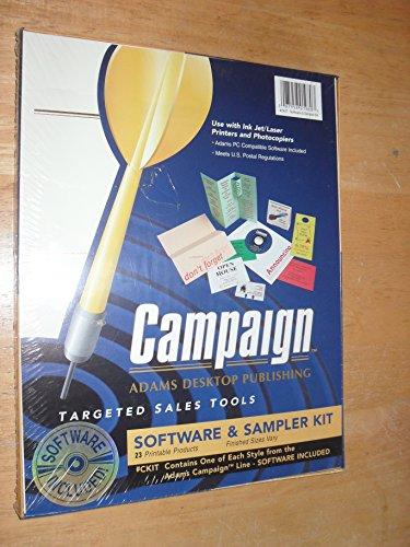 (Campaign Software Adams Dektop Publishing and Sample Kit)