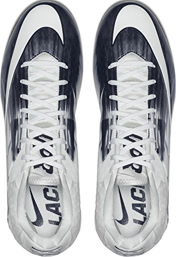 Men's Navy 2 Vapor Nike Speed Lacrosse Cleats White FZgxqwSx