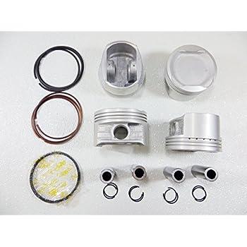 DNJ PR932.40 Oversize Piston Ring Set For 06-15 Toyota Corolla 2.4 DOHC 2AZFE