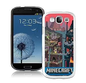 100% brand new Minecraft 1 White Samsung Galaxy S3 i9300 Case