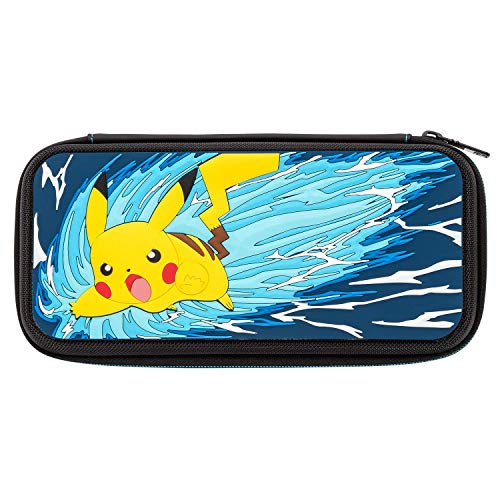 Nintendo Switch Pokemon Pikachu Battle Deluxe Travel Case for Console and Games by PDP, 500-110