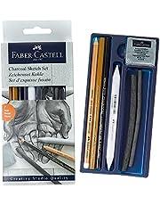 Faber-Castell 5110114002 Kömür Sketch Seti Siyah