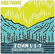 John 1:1-7 (English & Latin Vulg