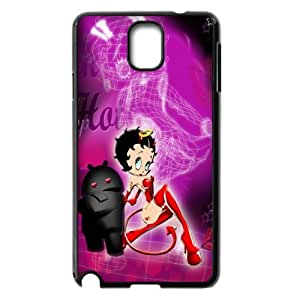 Cute Betty Boop For Samsung Galaxy Note 3 N9000 Hard Protective Plastic Back Case Cover (4)