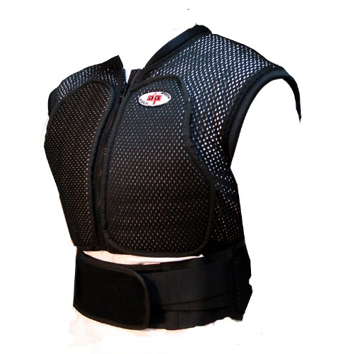 Perrini Motorcycle Racing Under Suit Spine Protector Bike Riding Padded Vest-2XL