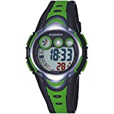 AZLAND Waterproof Swimming Sports Watch Boys Girls Led Digital Watches for Kids,Rubber strap