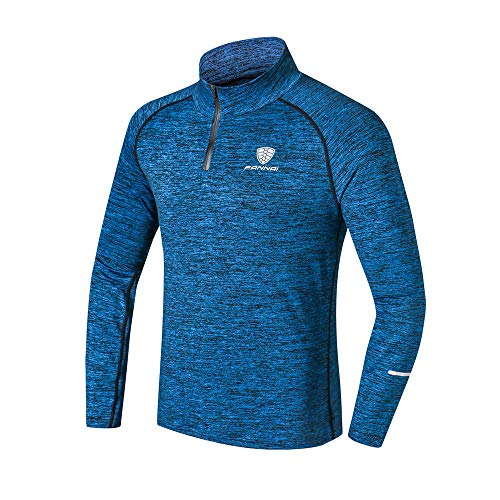 Men Training Running Shirt, Mens Long Sleeve Sweatshirt Climbing Top Blouse Camping Hiking Shirt Tee Training Top