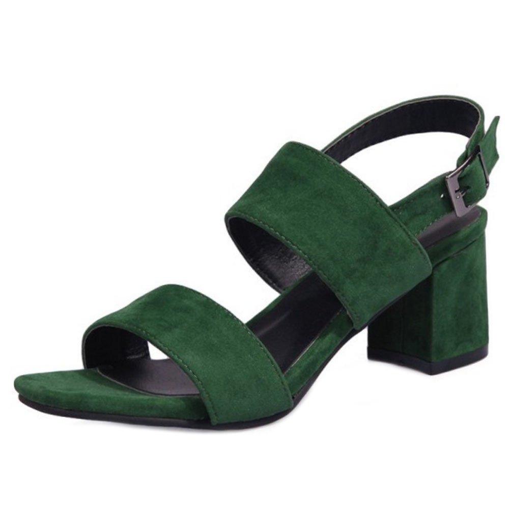 Zanpa Donna Mode Estate Scarpe Tacco1#Green