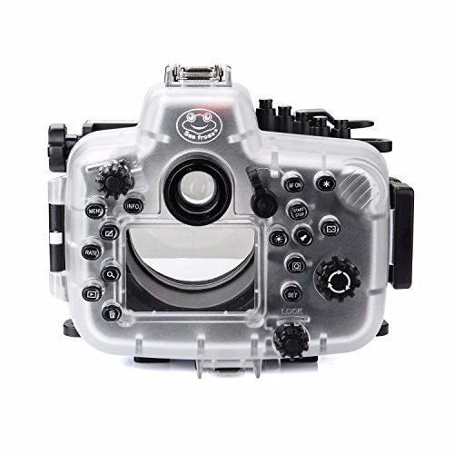 SeaFrogs 40M 130ft Diving Waterproof Housing Case for Canon 5D III IV 5D3 5D4 Supports 24-105mm Lens by SeaFrogs (Image #1)