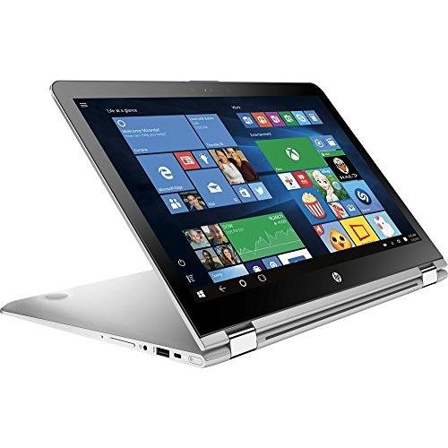 Top Performance HP x360 15.6″ 2-in-1 FHD IPS 1080p Premium Touchscreen Laptop | Intel Core i5-7200U | 12GB DDR4 RAM | 1TB HDD | Backlit Keyboard | Bluetooth | HDMI | B&O Play | Windows 10-Silver