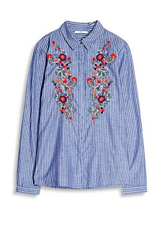 Multicolore 430 edc Femme Blouse by Esprit Blue 4xq1fP7Sw