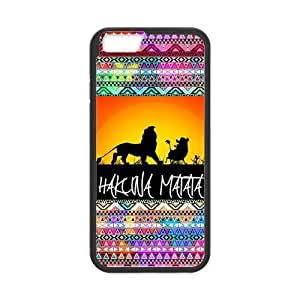 Protective PC Coated Case Cover for iPhone 6 - Hakuna Matata