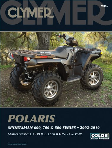 Polaris Sportsman 600, 700, and 800 Series 2002-2010 (Clymer)