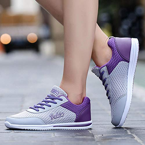 Shoes Pink 35 Sport Student Blue Sports Casual 40 Shoes Women Shoes Shoes Purple JERFER Purple Outdoor Shoes Walking WxHRaOnqwF