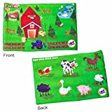 Fun and Function Find Me Dino Land Weighted Lap Pad for Calm and Focus, 7.5 Pounds
