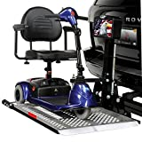 Harmar Mobility AL100 Universal Scooter Lift Outside Fully Automatic Carrier with II/III Hitch Adapter & Swing-Away Arm