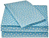 Laura Hart Kids SS2352TW-4700 Printed Sheet Set, Twin, Garden Fairies Daisies