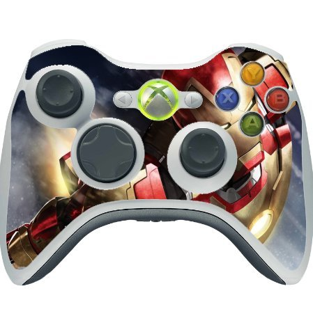 (Comic Book Hero Xbox 360 Wireless Controller Vinyl Decal Sticker Skin by Compass Litho)