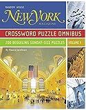 new york magazine - New York Magazine Crossword Puzzle Omnibus, Volume 1