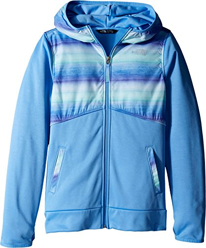 - The North Face Kids Girl's Kickin It Hoodie (Little Kids/Big Kids) Provence Blue Ombre Stripe Print/Provence Blue (Prior Season) X-Small