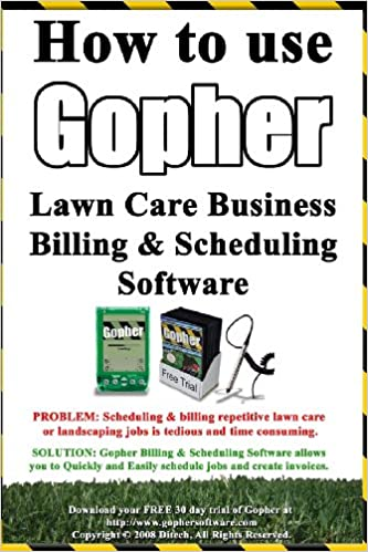 how to use gopher lawn care business billing scheduling software learn how to manage your lawn care and landscaping business easier with this powerful