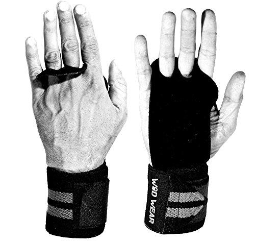 Leather Hand Grips Wrist Wrap