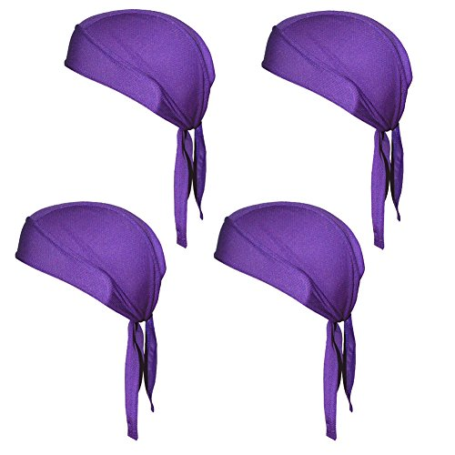 Quick Dry Sweat Wicking Beanie Cap Adjustable Cycling Cap Hat Skull Cap Chemo Head Wrap Bandana For Men Women Helmet Liner Pack of - Men Head Shapes