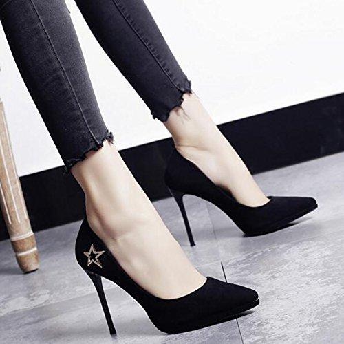 Beige Pour Moderne 1 Femmes 10cm Travail Simples Chaussures Sunny Talons Plateforme Hauts noir avWOYx