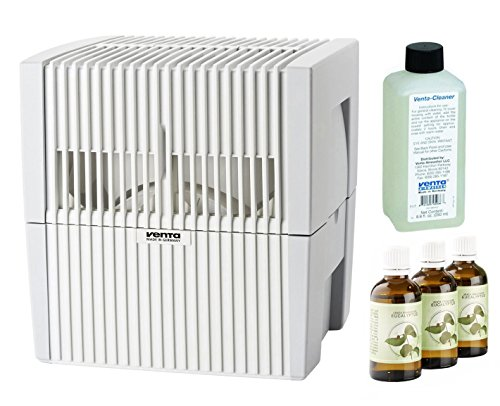 Venta LW25W Humidifier & Airwasher White w/Fragrance & Cleaning Solution