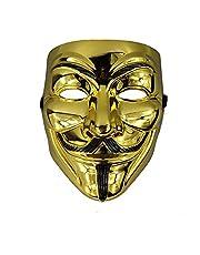 Electroplated V Mask (Golden)