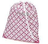 aBaby Pink Sadie Gym Bag, Name: Natalie