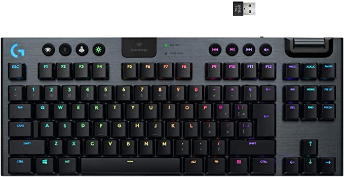 Logitech G915 Lightspeed TKL mechanical keyboard