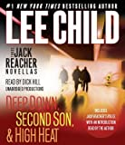 Three Jack Reacher Novellas (with Bonus Jack Reacher's Rules)( Deep Down Second Son High Heat and Jack Reacher's Rules)[3 JACK REACHER NOVELLAS (WIT D][UNABRIDGED][Compact Disc]