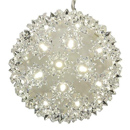 GE Energy Smart® Random Sparkle 50 LED Spheres, Crystal White - (3 Pack)