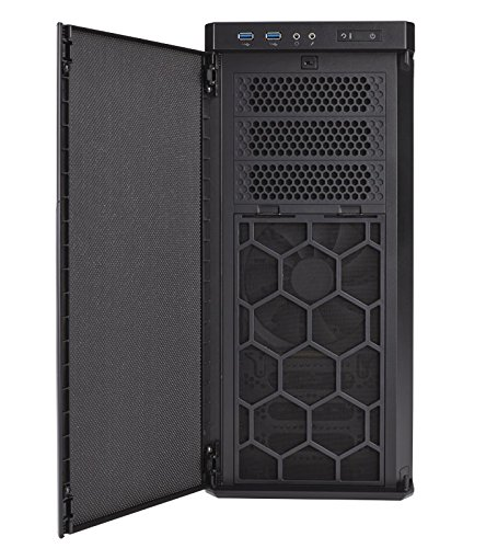 Corsair Carbide Series 330R Blackout Edition Ultra-Silent Mid-Tower Case Cases by Corsair (Image #5)