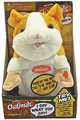 Chatimals The Talking Hampster - Colors May Vary from Dragon-i Toys
