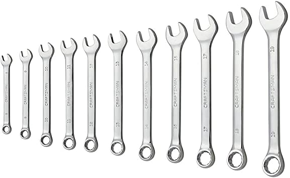 CRAFTSMAN 12-point Metric Ratchet Wrench Set