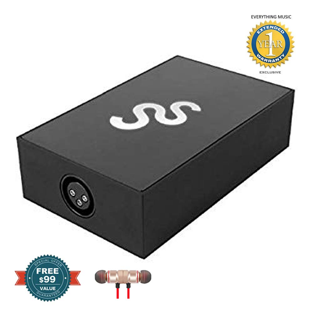 Chauvet DJ SoundSwitch DMX Interface for Serato DJ/Lighting Integration includes Free Wireless Earbuds - Stereo Bluetooth In-ear and 1 Year Everything Music Extended Warranty