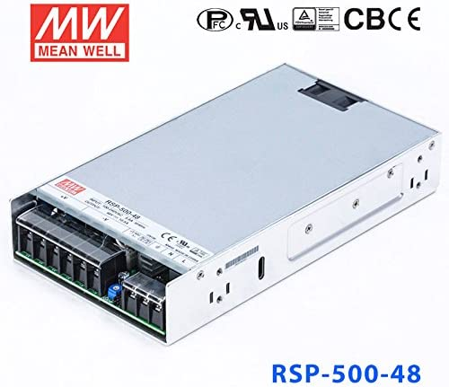 504W 48V 10.5A Low Profile Meanwell RSP-500-48 Power Supply