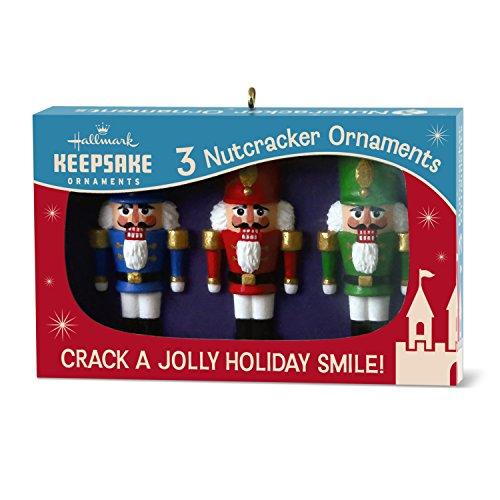 Hallmark Keepsake 2017 Nutcracker Nifty Fifties Keepsake Christmas Ornaments, Box of Retro Glass Christmas Ornaments ()