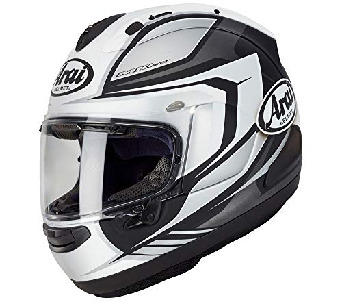 Arai Corsair-X Bracket '20 Adult Street Motorcycle Helmet – White Frost/Medium