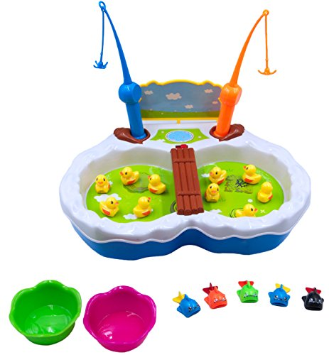 Deceny CB Fishing Game Magnetic Fishing Toy Kids Fishing Toy Games with ()