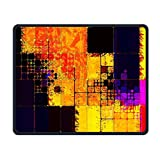Huge Tiny Golden Squares Office Rectangle Non-slip Rubber Mouse Pad Entertainment Gaming Mouse Pad For Laptop Displays Tablet Keyboard