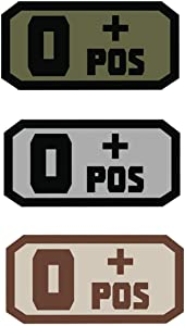 Fox Outdoor Products O Pos Medical & Morale Patches