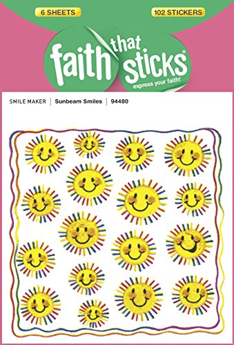 Sunbeam Smiles (Faith That Sticks Stickers) ()
