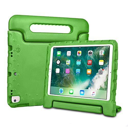 Bolete iPad Air 10.5 2019 Case, Lightweight Kid-Proof Handle Stand Cover Compatible with iPad Air 3rd Generation 10.5inch 2019 / iPad Pro 10.5 2017 tablet, Green