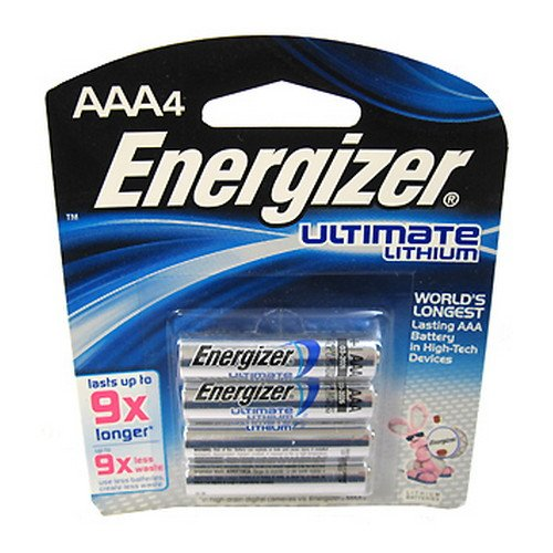 Ultimate Lithium AAA Batteries 4pk - One Size -