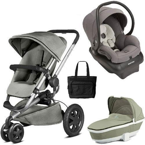 Quinny Pram And Bassinet - 4