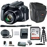 Canon PowerShot SX60 HS Digital Camera w/32GB SD Card & Accessory Bundle