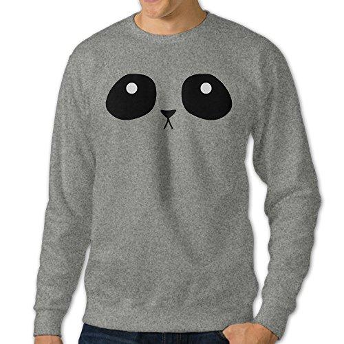 Men's Giant Panda Funny Panda Bear Face Funny ()